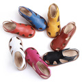children sandals girls boys sandals genuine leather kids sandals summer new girls sandals beach shoes cut-outs kids shoes