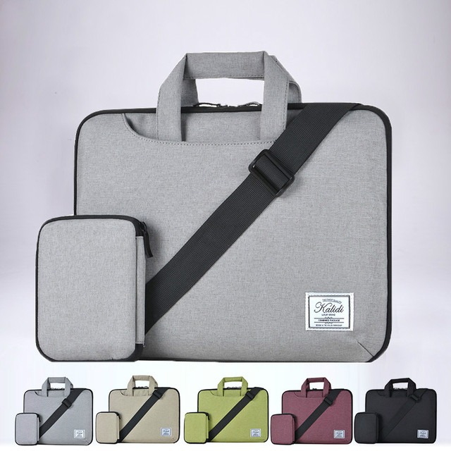 Slim Light Weight Laptop Case Bag With Digital Pouch For Macbook Pro 13 Retina For Macbook Air 13 11 For 15 Inch Notebook