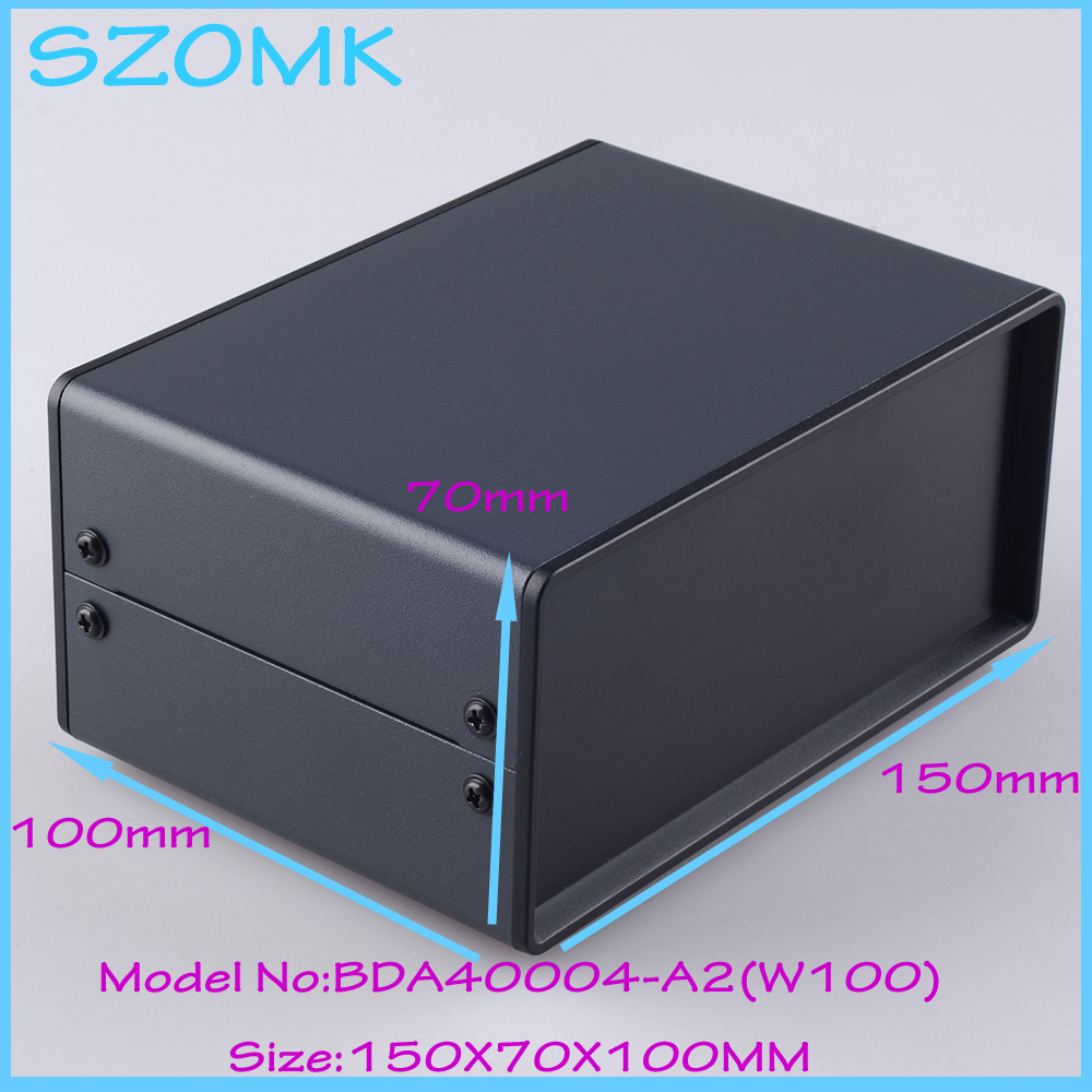 (1 )150x70x100 mm metal enclosure switch box diy iron electronics box instrument case housing case for pcb 1 220x120x195 mm 2014 new electronics metal enclosure box for electronics and pcb instrument box industrial enclosures