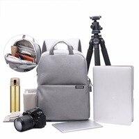 CADEN Shoulder Camera Bags Sling Canvas Soft Bag For Men Digital Camera Video Backpack Brief Bag
