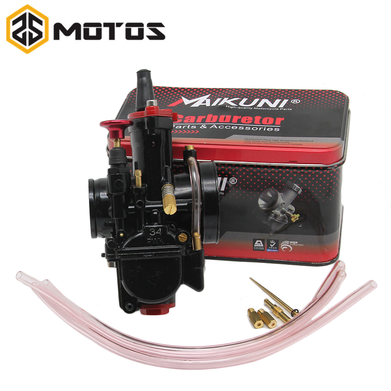 ZS MOTOS brand new 21 24 26 28 30 32 34 mm universal case for Mikuni carburetor parts Scooters with power jet motorcycle ATV