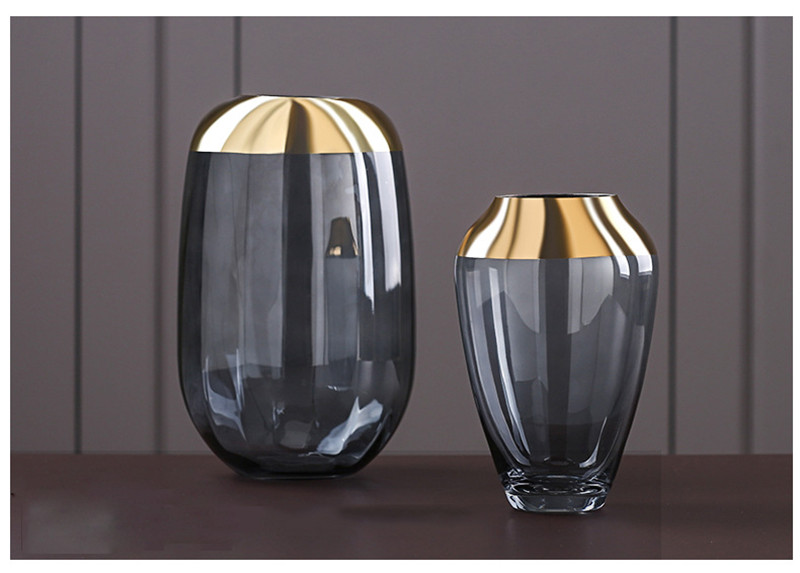 glass flower vase tabletop vases fashion european vases07