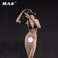1:6 scale figure sexy female girl super flexible seamless body medium breast suntan/pale doll without head for PH action figure