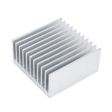 High Quality Aluminum Heat Sink White 11 Tooth 40mmx40mmx20mm Radiator Heatsink Conduction