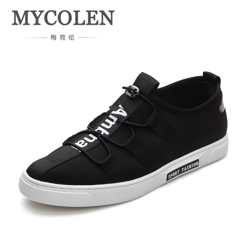 MYCOLEN Spring Autumn Casual Shoes For Men New Arrival Lace-Up Fashion Sneakers Outdoors Tourism Men Shoes Chaussure Hommes spring autumn casual men s shoes fashion breathable white shoes men flat youth trendy sneakers