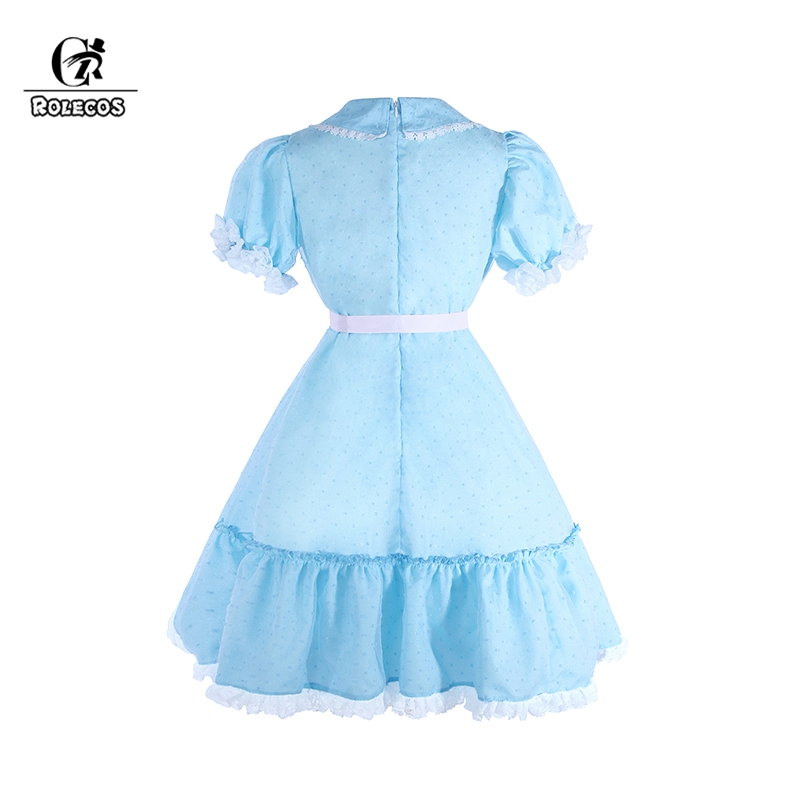 Rolecos Women Costume The Shining Twins Cosplay Sweet Dress Horror Movie Party Clothing On Aliexpress Alibaba