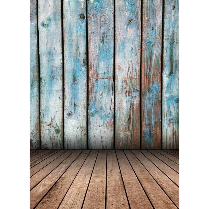 5X8ft Thin vinyl fabric computer Printed photography background wood floor photo backdrops for photo Studio fotografia Floor-411