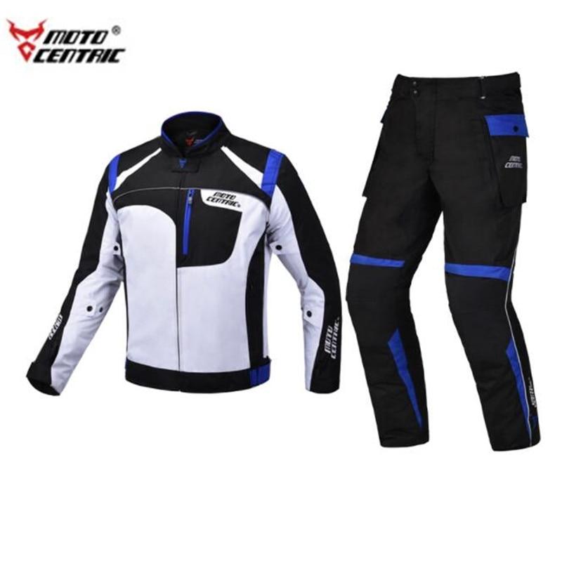 Veste de Moto motocentrique + pantalon de Moto veste de Moto imperméable à l'eau