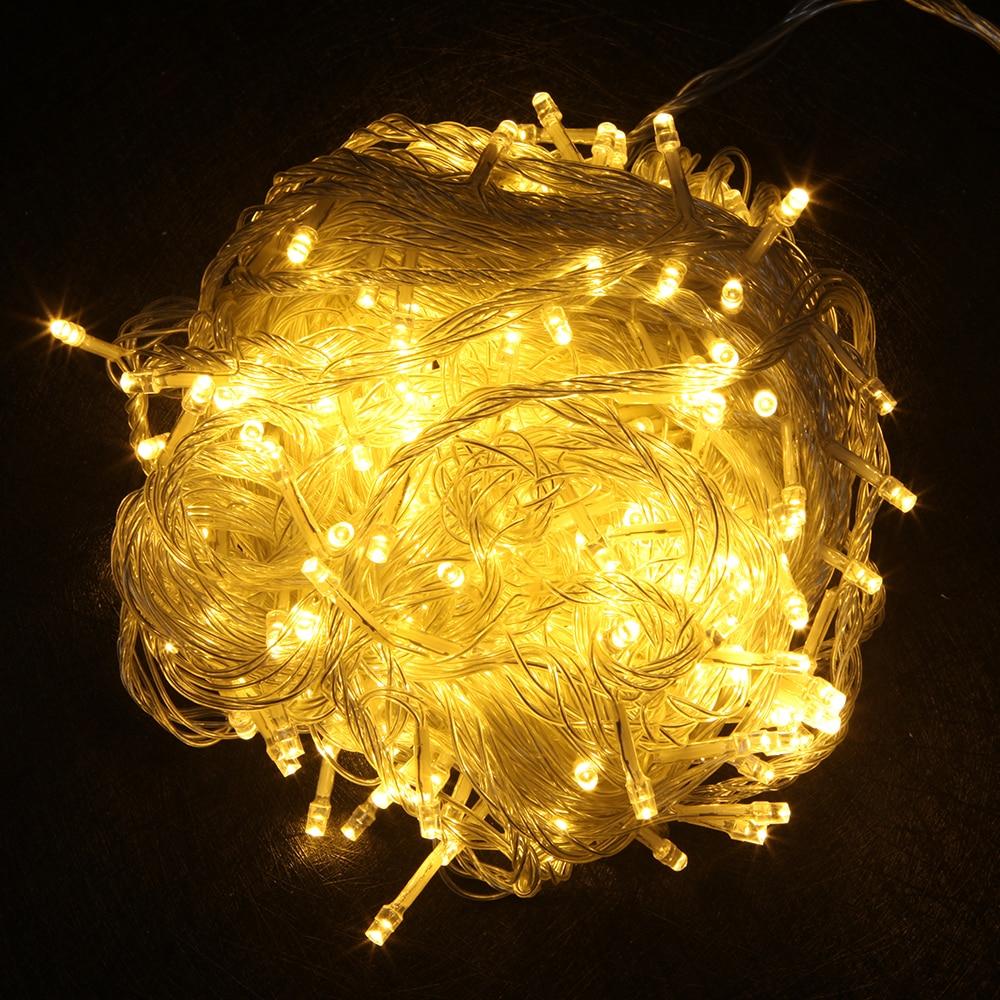 LED String Light 10M 20M 30M 50M 100M AC220V Xmas ünnepi fény - Üdülési világítás - Fénykép 3