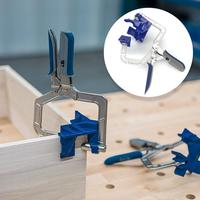 Auto adjustable Rugged 90 Degree Corner Clamp and Face Frame Woodwork Right Angle Clamp Fit Tool Drop Shipping
