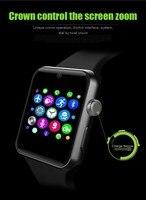 2017 DM09 Bluetooth Smart Watch HD Screen Support SIM Card Wearable Devices Clock Sync Magic Knob