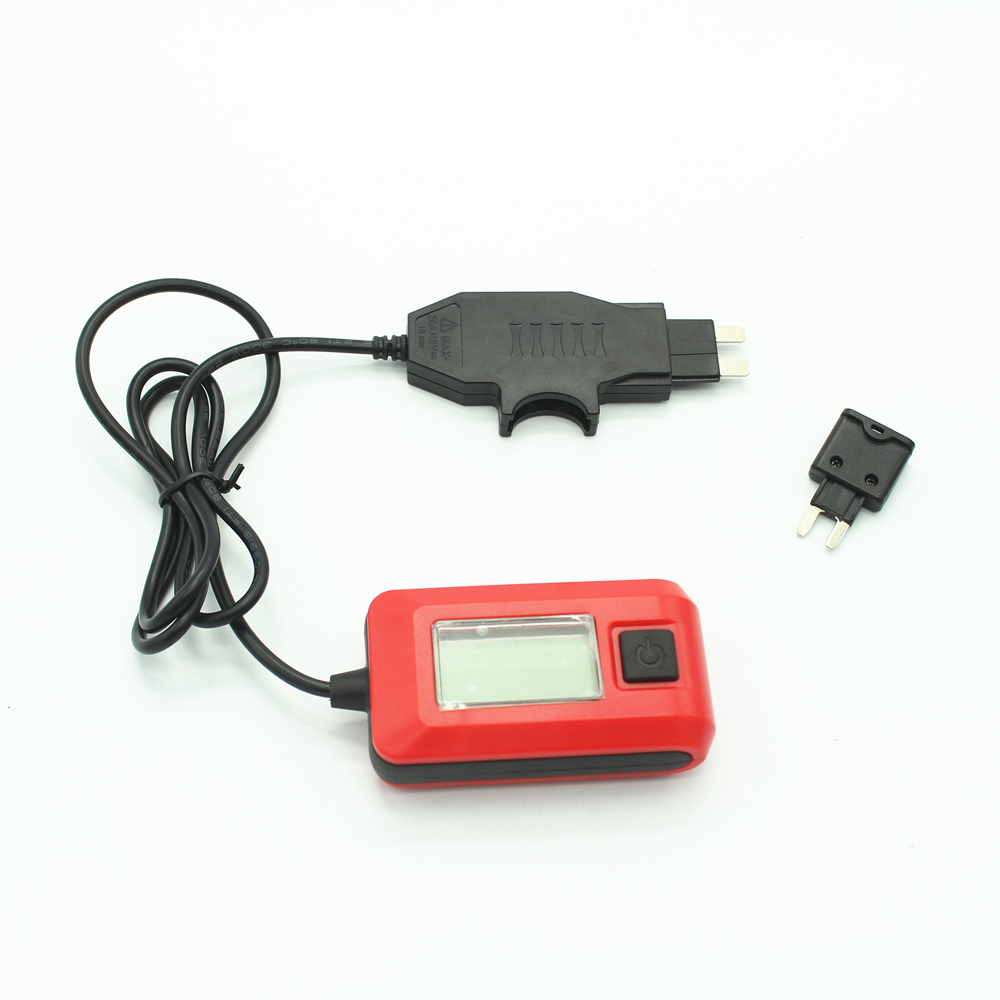 12V AE150 Car Auto Current Tester Multimeter Lamp By Fuse 23A Measurement Range 0.01A~19.99A