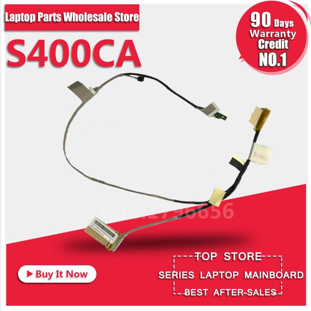 Nouvelle d'origine POUR ASUS S300 S300C S300CA S400 S400C S400CA S500 S500C S500CA S46E Ordinateur Portable Lcd Câbles LVDS Câbles Lcd Écran Vidéo