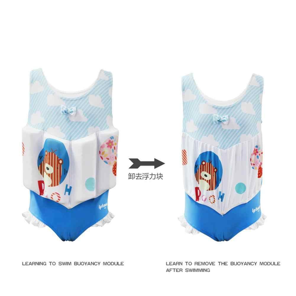 LeadingStar/детский купальный костюм для девочек с кикбордом, комплект с шапкой, купальный костюм, бикини, плавающая одежда для плавания, плавательный бассейн