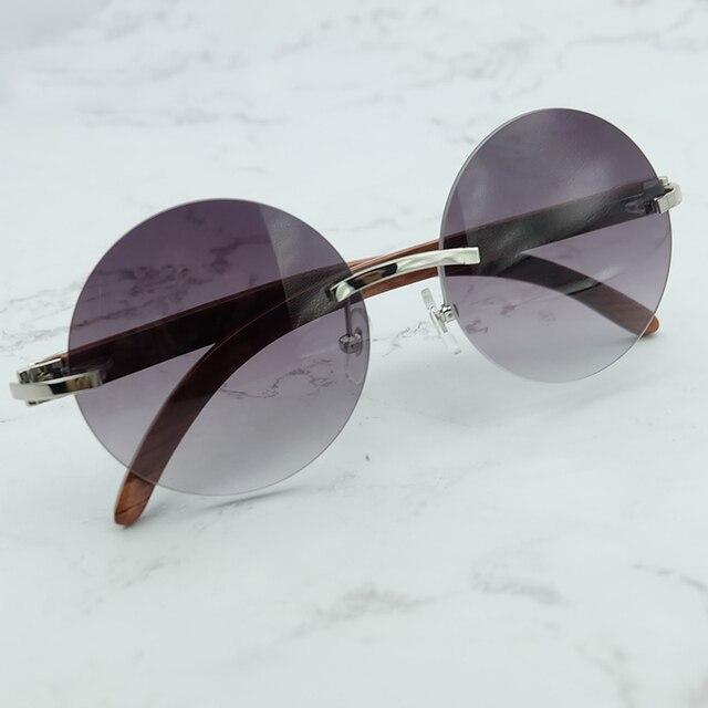 e2f9442a3 الخشب الأوردة جولة النظارات الشمسية الرجال والنساء الفاخرة مصمم الجملة  كارتر الشمس الزجاج الديكور الظل نظارات