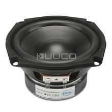 Subwoofer Shocking Bass unit 4.5-inch 6 ohms Hi-Fi Audio Speaker 40W Stereo Loudspeaker Woofer Speaker for DIY speakers