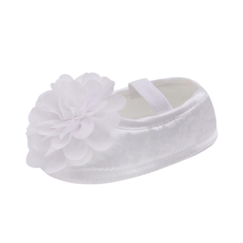 Walking-Shoes Flora Toddler Newborn Baby-Girl Flower Prewalkersband Chiffon Cute Chaussure