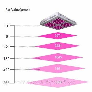 Kits De Culture De Tente | Mars Pro II 1600W LED Grandir Lumière Spectre Complet Veg Fleur Hydro + 120x120x200cm Kit De Tente De Culture Intérieure Pour Les Plantes D'intérieur En Croissance