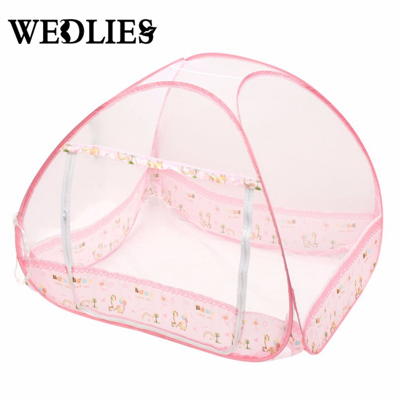 Baby Mosquito Net Foldable Bed Crib Tent Type 0-3 Years Pink/Blue Portable Baby Kids Toddler Summer Mosquito Net Tent Hut  sc 1 st  AliExpress.com & Online Get Cheap Kids Bed Net -Aliexpress.com | Alibaba Group