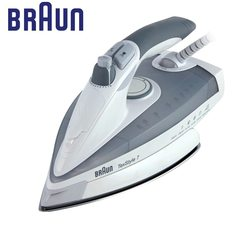 Iron BRAUN TS 775 Textyle Protector electric for ironing steam Household for Clothes Burst of Steam electricsteam electriciron