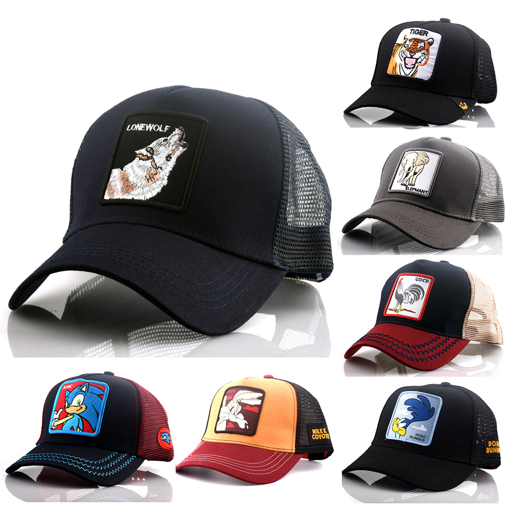 2019 New LOONEY TUNES DRAGON BALL MARVEL Snapback   Cap   Cotton   Baseball     Cap   Men Women Hip Hop Dad Mesh Hat Trucker Dropshipping
