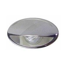 316 In Acciaio Inox Blu LED RV Marine Luce 12 V Imbottiture Luce di Cortesia ITC Marine Accessori