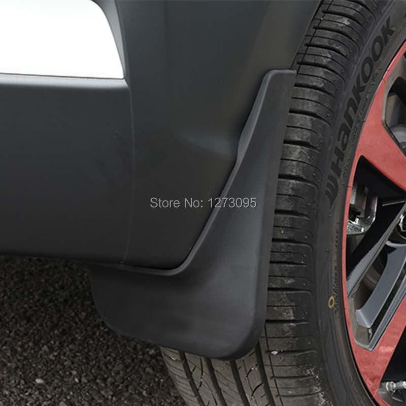 For 2018 Hyundai Kona Soft Plastic Car Mudguards Mud Flap Flaps Splash Guards Fender Mudflap font