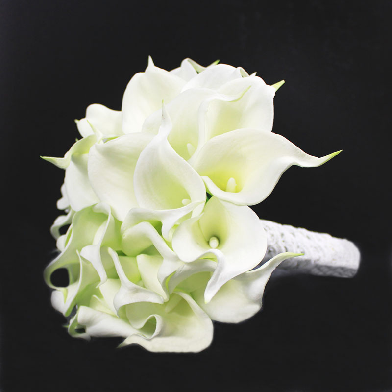 Wedding Flower Bouquets Prices: Compare Prices On Ivory Calla Lilies- Online Shopping/Buy
