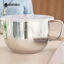 WORTHBUY High-Capacity Rice Soup Noodle Bowl Japanese