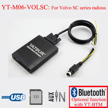 Yatour digital music changer car stereo USB MP3 player for Volvo SC series radios