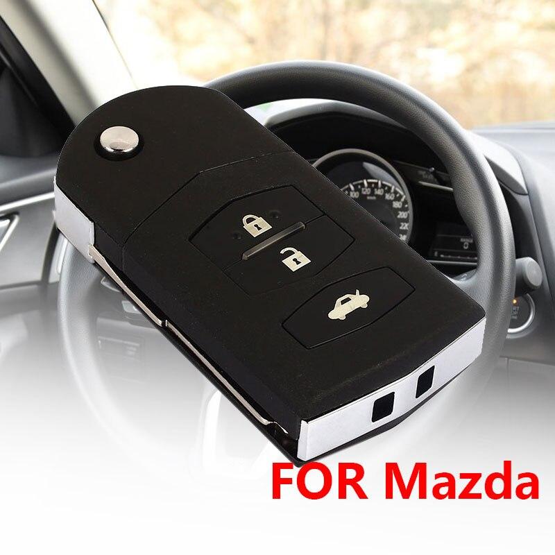 Vehemo DIY брелок держатель дистанционного ключа корпус автомобиля ключ чехол для замены крышки автомобиля для оболочки ключа для Mazda