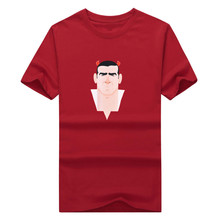 The kings Eric Cantona T-shirt red revils the best 7  short sleeve fans shirt 100 cotton% 1218-6