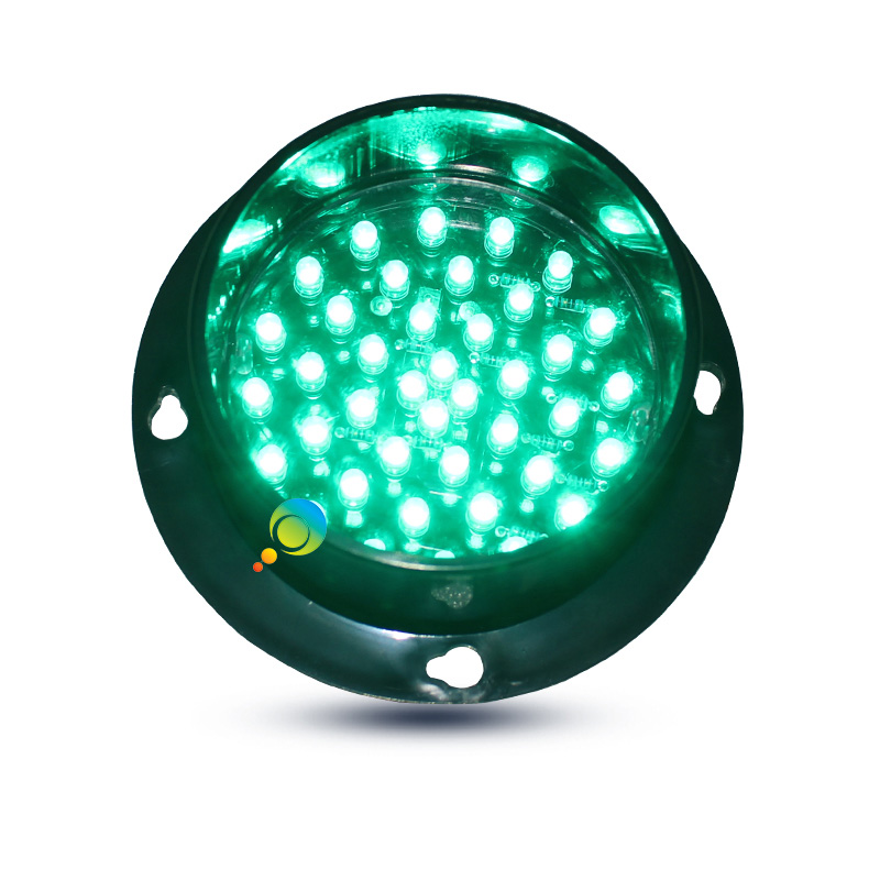 DC12V  CE RoHS Approved Small 88mm LED Traffic Signal Light Module For Sale