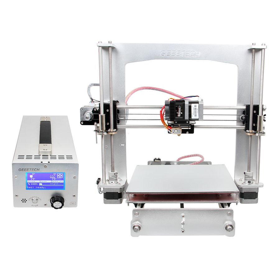 Geeetech Prusa i3 A Pro 3D Printer All Aluminum Frame High Precision LCD12864 Impressora Reprap with Power Control Box точило einhell tc wd 150 200 150 вт круг 150 и 200 мм