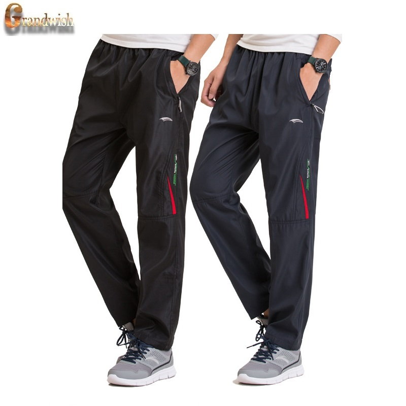 Grandwish Winter Fleece Pants Men Plus Size 3XL Pantalones gruesos de - Ropa de hombre - foto 2