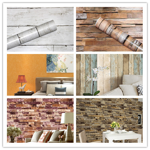 HaokHome Solid Color Non Woven Wallpaper Rolls Orange Modern Silk Wall coverings Wall Paper for Living room Bedroom Decoration beibehang embossed non woven stereoscopic mosaic wallpaper rolls modern woven 3d flocking wall paper living room home decoration