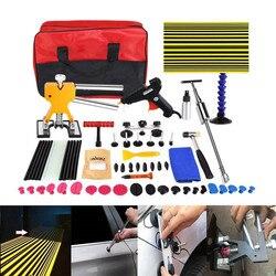 Auto Body repair tools Verveloos Reparatie Removal Tools Automotive Deur Ding Dent Tool Kit dent remova kit slide hammer