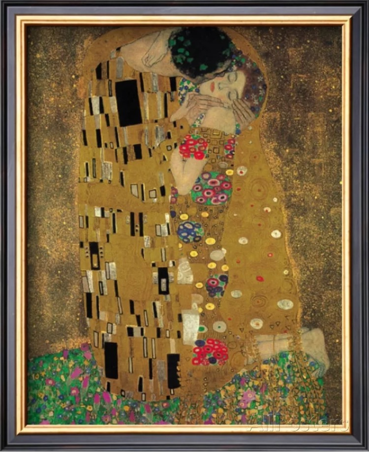 K 055 no framed Free shipping Gustav Klimt \