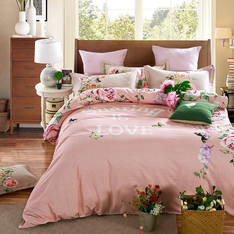 Acquista all 39 ingrosso online rosa copripiumino matrimoniale da grossisti rosa copripiumino - Migliore marca di piumini da letto ...