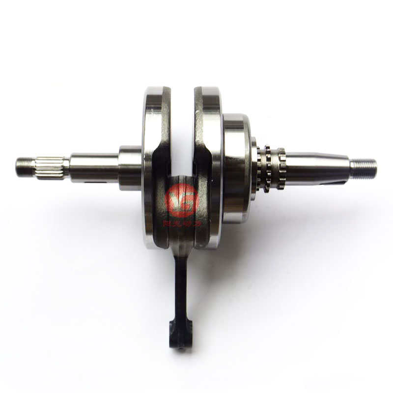 Genuine Motorcycle Crankshaft Composition Assy for <font><b>Honda</b></font> CG <font><b>150</b></font> <font><b>TITAN</b></font> JOB CARGO FAN CG150 2004-2011 image