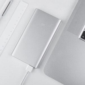 Image 5 - Original Xiaomi Power Bank 5000mAh 2 USB Portable Charger Slim Xiaomi Powerbank 5000 Li polymer External Battery for iPhone XS