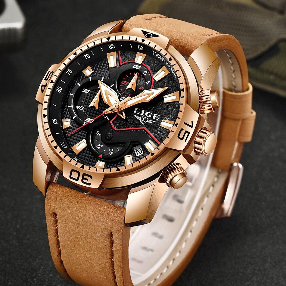HTB1vP2nPVzqK1RjSZFvq6AB7VXaa LIGE 2019 Fashion Men's Sport Watch Men Analog Quartz Watches Waterproof Date Military Multifunction Wrist Watches Men Clock+Box