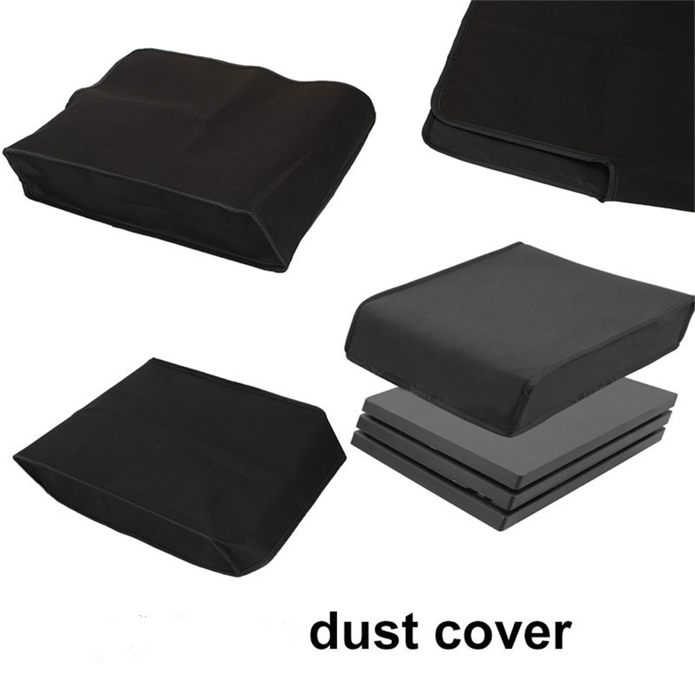 Gasky Dust Sleeve Dust Protector Nylon Black Console Video Game Accessories Horizontal/Vertical For PS4 Pro Accessories