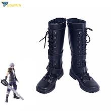 Kingdom Hearts 3 Bring Arts Riku Cosplay Boots Shoes Custom Made