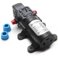 DC 12V 80W Diaphragm Water Pump High Pressure Micro Diaphragm Water Pump Automatic Switch For RV