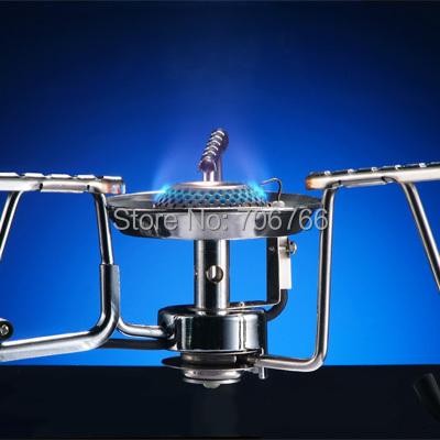 stainless steel gas stove super power gas burner portable camping stove
