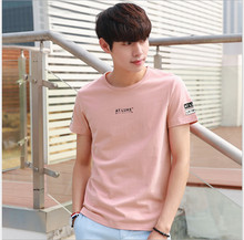 100% Pure Silk Man's T-shirts High Quality Short Sleeve O Neck Man Casual Wild Solid 6 Colors Male Tee Sweater Shirts Tops