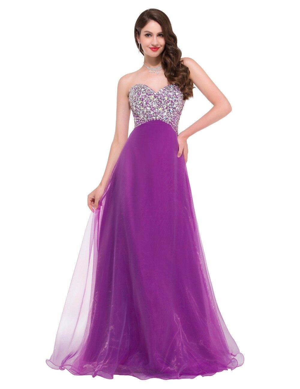 Pink Purple Wedding Bridesmaid Dresses