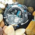 EPOZZ 2015 de primeras marcas de lujo hodinky Sincronizar reloj masculino de alta calidad Batería de Movimiento 3 años negro digital relojes deportivos hombres