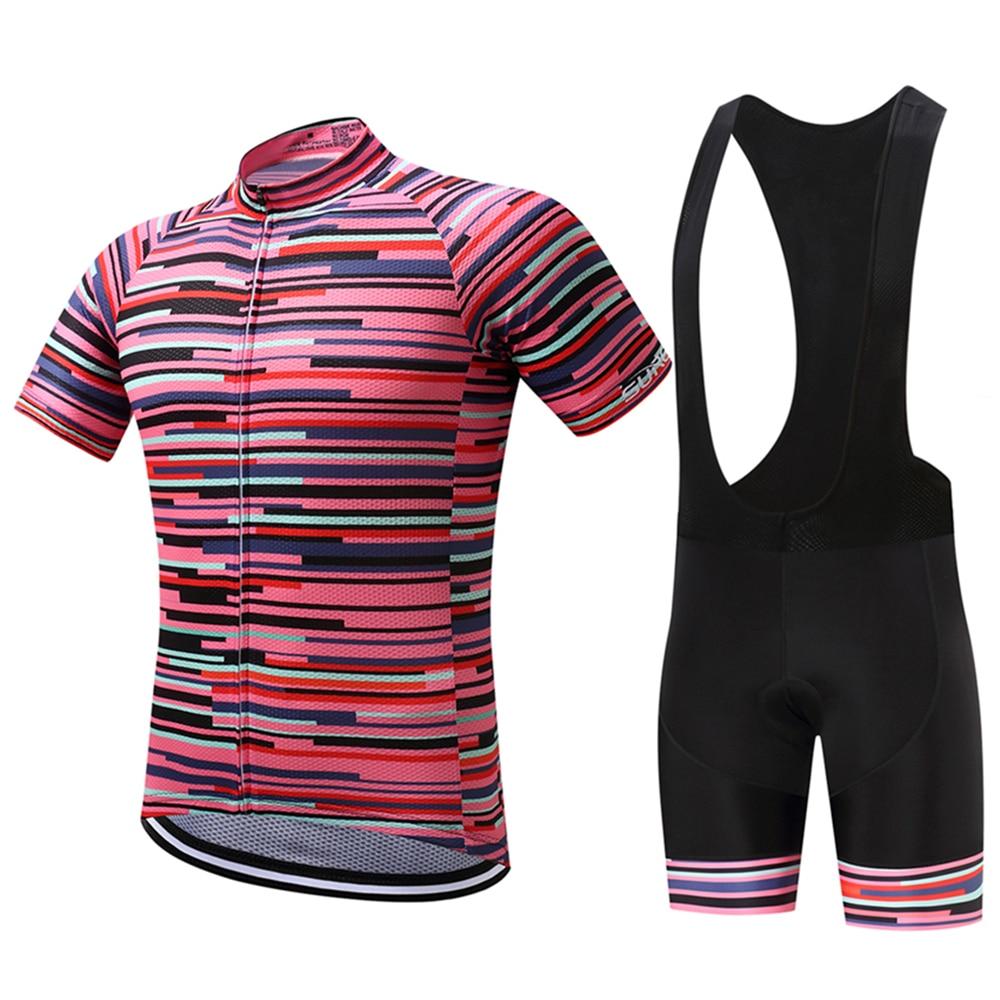 FUALRNY Kimball Summer Pro īsās piedurknes velosipēdu bikses komplekts sacīkšu velosipēdu sporta apģērbs velosipēdu apģērbu komplekts Maillot Ropa Ciclismo